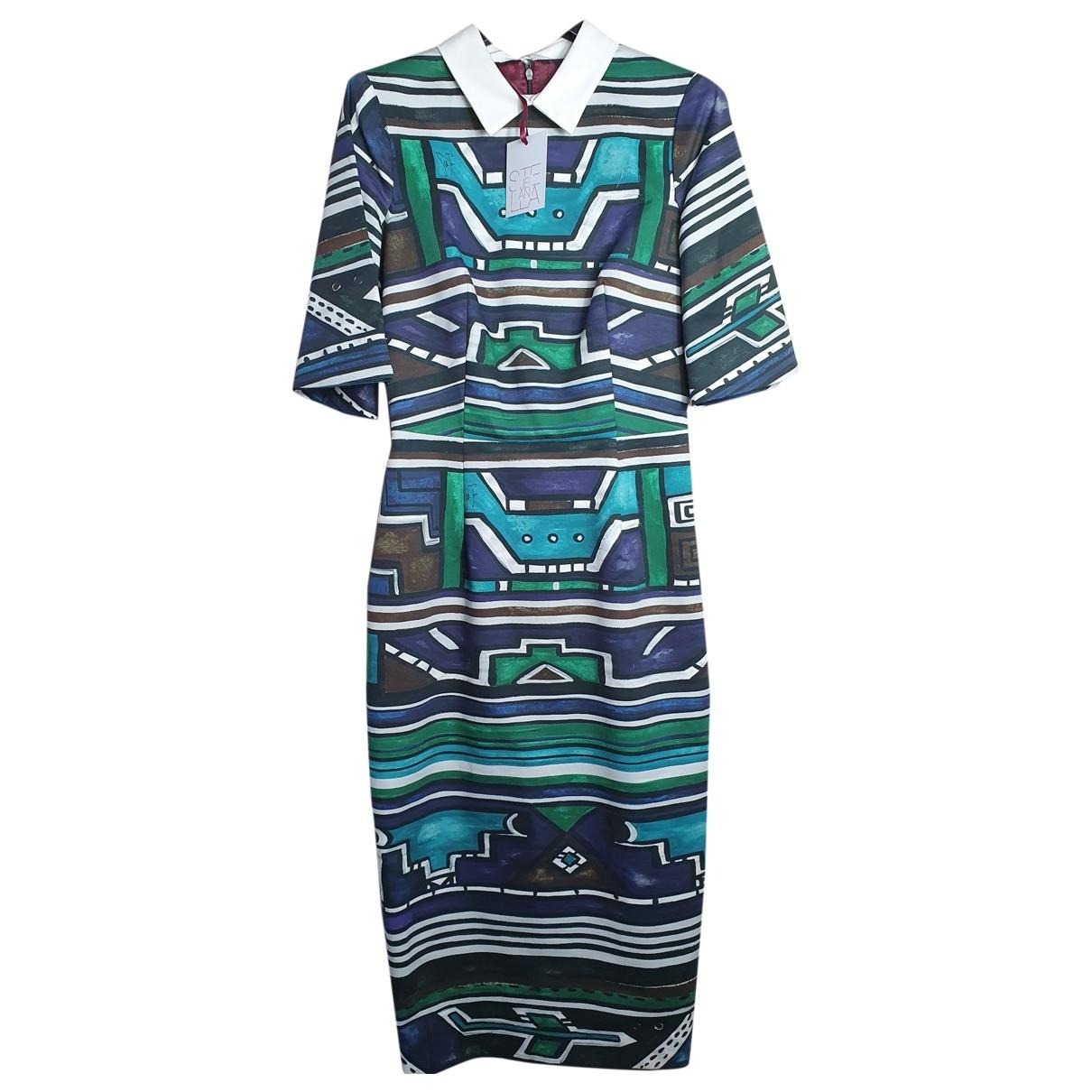 Stella Jean \N Kleid in  Bunt Baumwolle