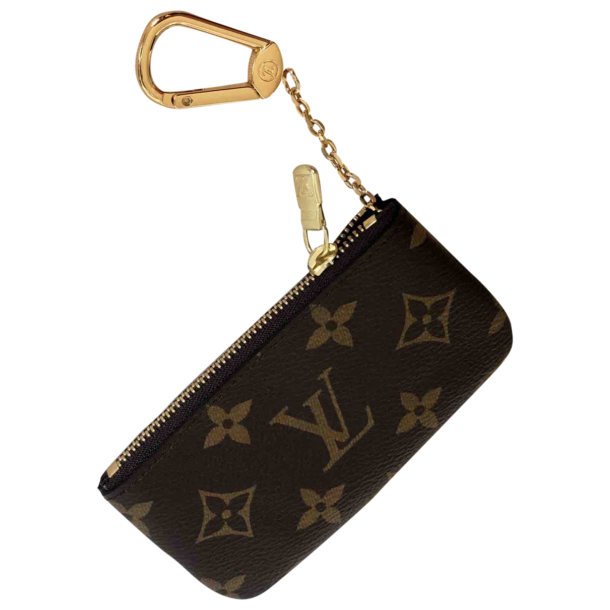 Louis Vuitton \N Brown Cloth Purses, wallet & cases for Women \N