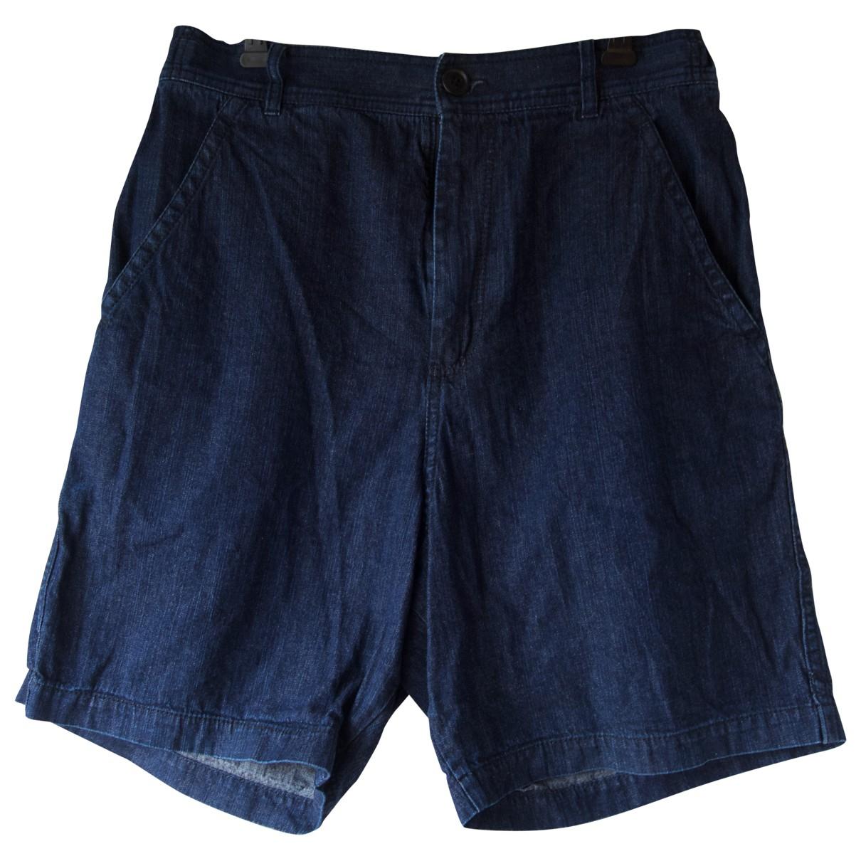 Comme Des Garcons \N Shorts in  Marine Denim - Jeans