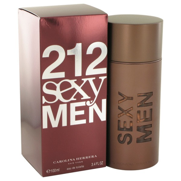 212 Sexy Men - Carolina Herrera Eau de toilette en espray 100 ML