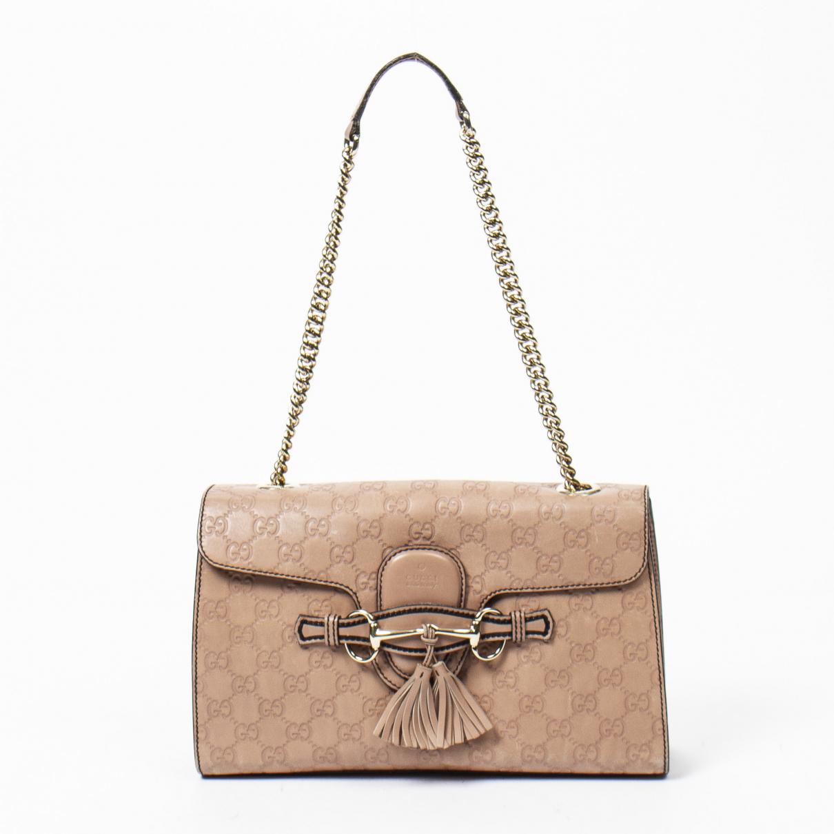 Gucci Emily Handtasche in Leder