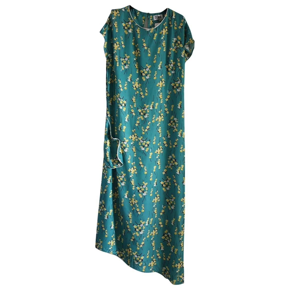 Sonia By Sonia Rykiel \N Kleid in  Gruen Viskose