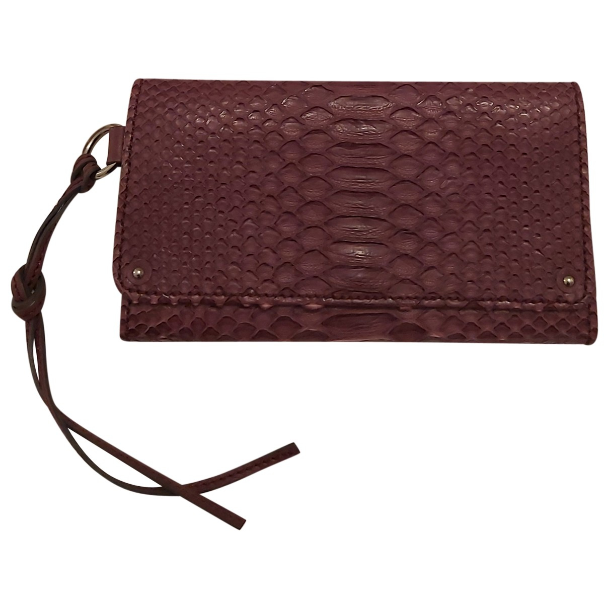 Chloé \N Purple Python Clutch bag for Women \N