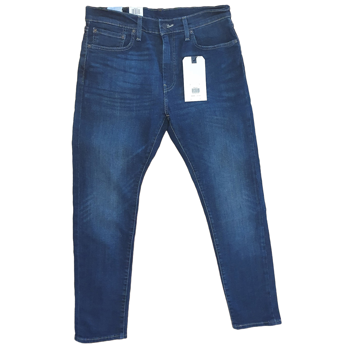Levi's 512 Blue Cotton - elasthane Jeans for Men 42 FR