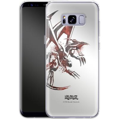 Samsung Galaxy S8 Plus Silikon Handyhuelle - Red-Eyes B. Dragon von Yu-Gi-Oh!
