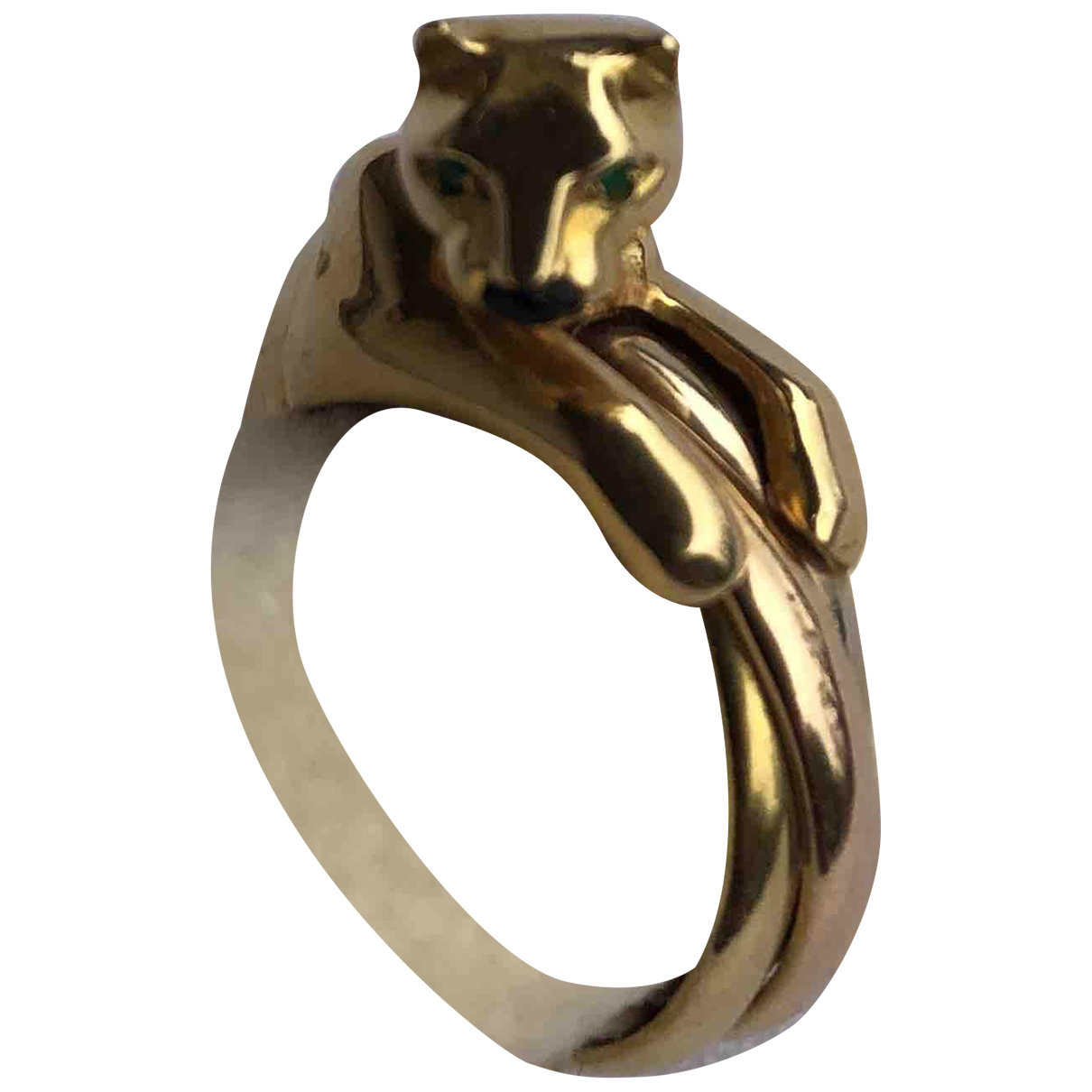 Cartier Panthère Gold Yellow gold ring for Women 55 MM