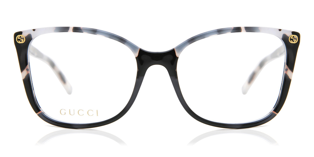 Gucci GG0026O 007 Women's Glasses Tortoise Size 53 - Free Lenses - HSA/FSA Insurance - Blue Light Block Available
