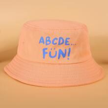Kleinkind Kinder Hut mit Buchstaben Grafik