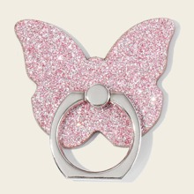 1pc Butterfly Shaped Phone Ring Holder