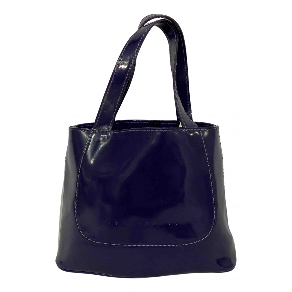 Coccinelle N Purple Leather handbag for Women N