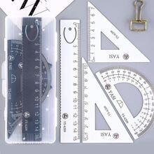 4pcs Random Ruler Set