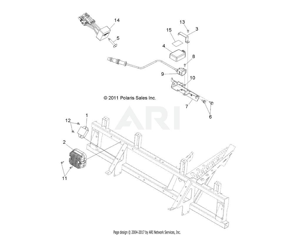 Polaris OEM 5256515-329 Bracket, Oil Tank, Support, Black | [Built 5/05/12 and After]