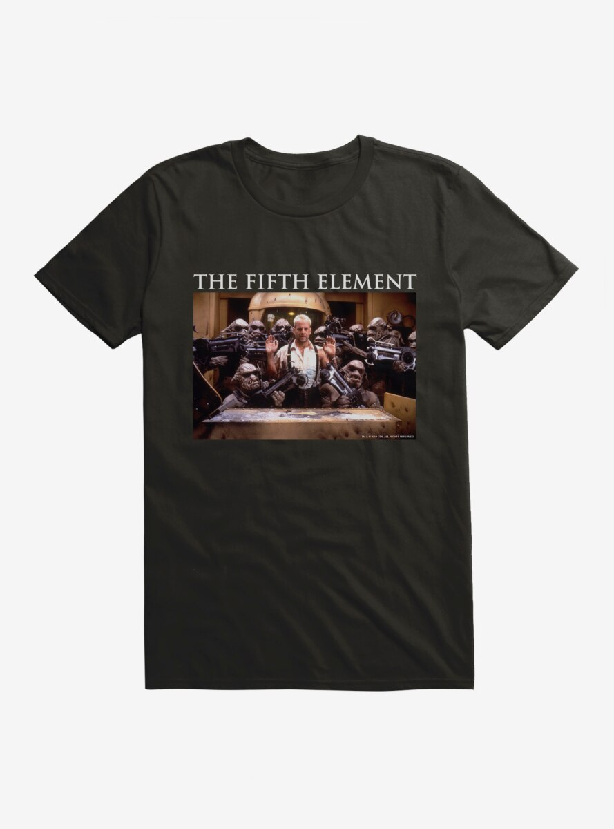 The Fifth Element Under Arrest T-Shirt