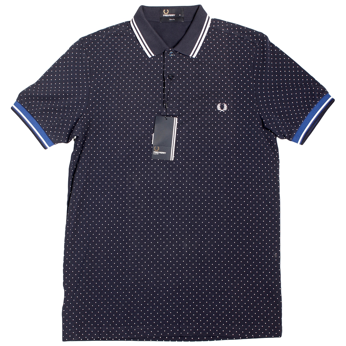 Fred Perry \N Blue Cotton Polo shirts for Men M International