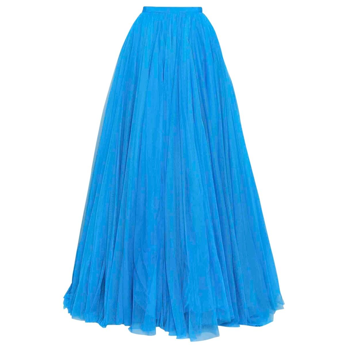 Jenny Packham - Jupe   pour femme en soie - turquoise