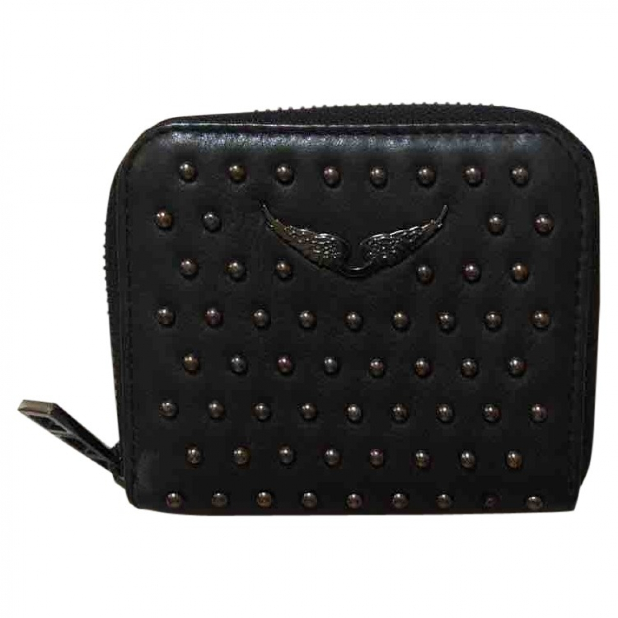 Zadig & Voltaire \N Black Leather Purses, wallet & cases for Women \N