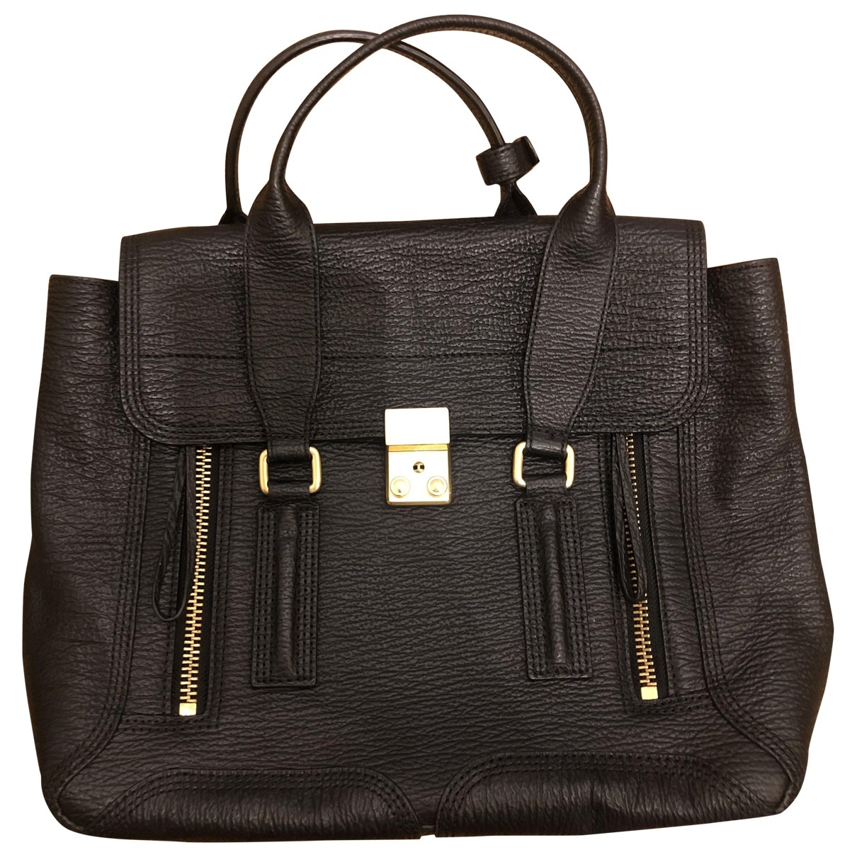 3.1 Phillip Lim Pashli Black Leather handbag for Women \N