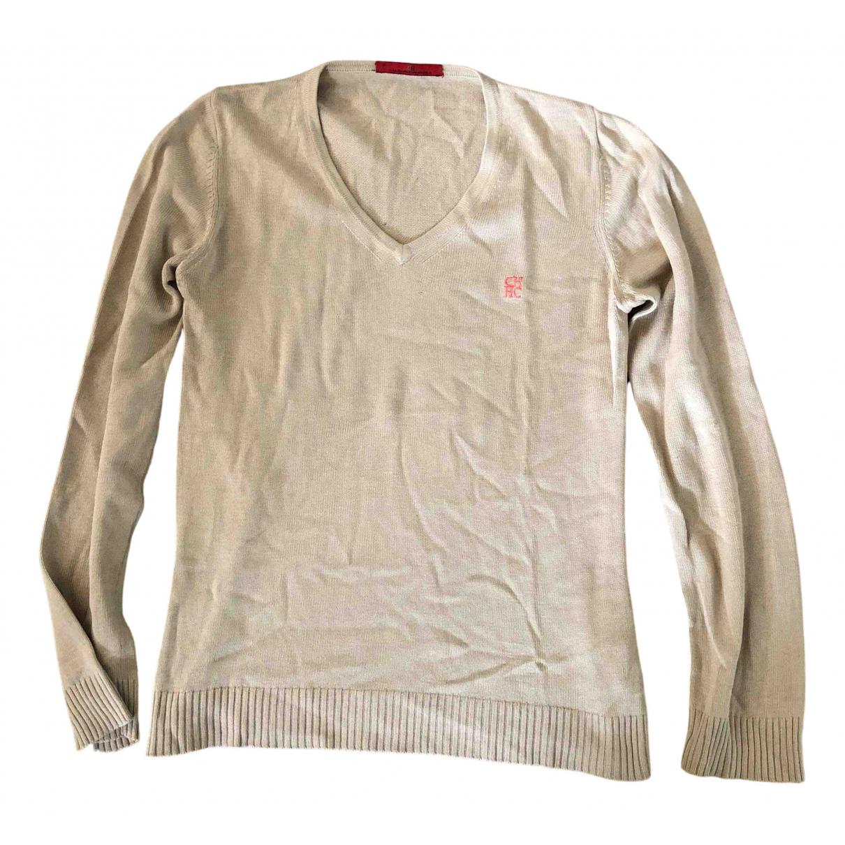Carolina Herrera N Beige Silk Knitwear for Women M International