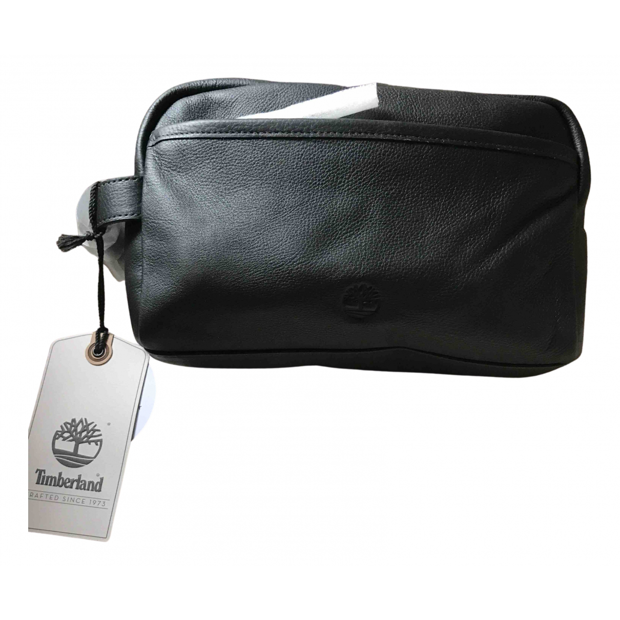 Timberland N Black Leather Small bag, wallet & cases for Men N