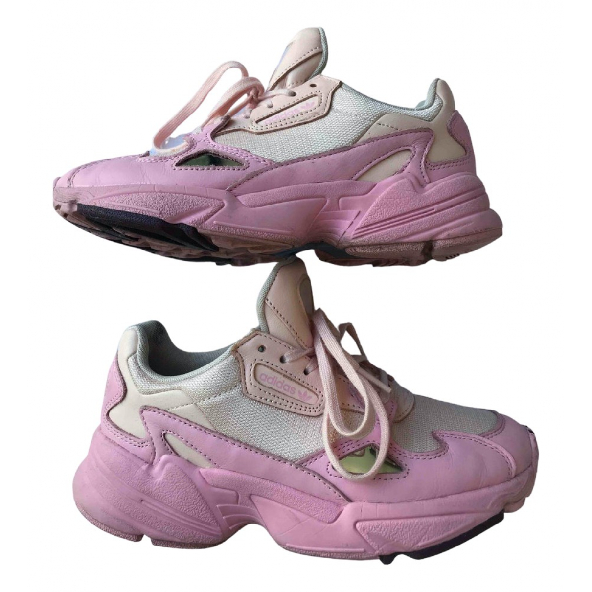 Adidas Falcon Pink Cloth Trainers for Women 4.5 UK