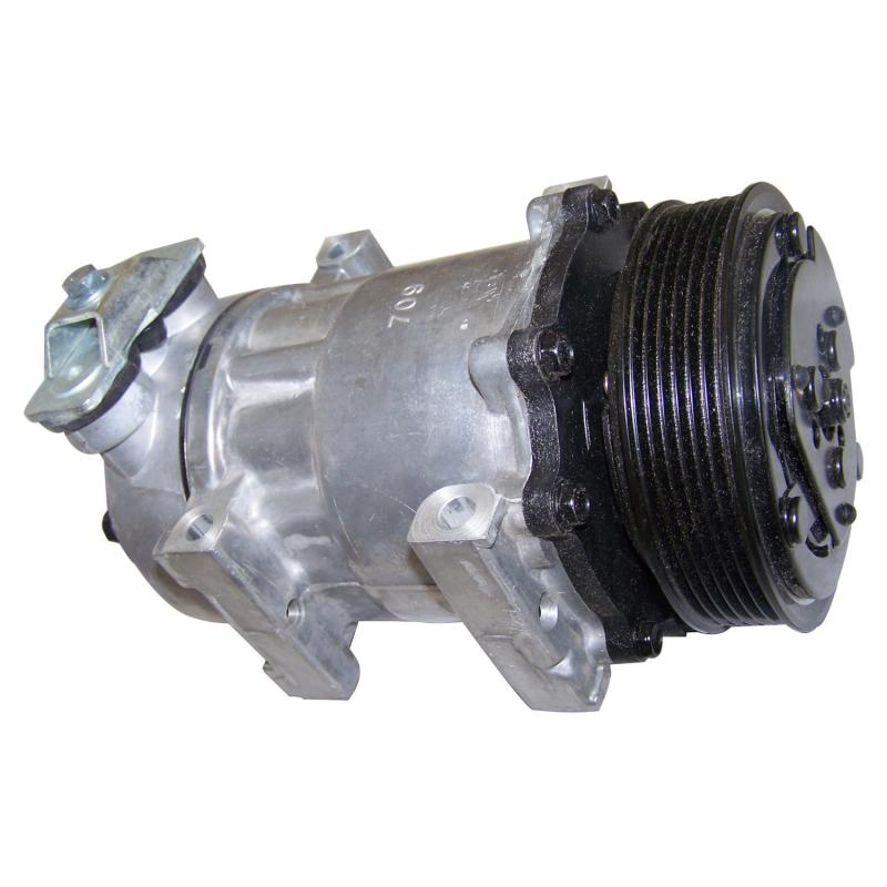 Crown Automotive 55037205AB Jeep Replacement A/C Compressor for 97/98 TJ Wrangler or 97/01 XJ Cherokee w/ 2.5L, 4.0L Engs Jeep