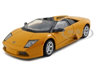 Lamborghini Murcielago Roadster Orange 1/24 Diecast Model Car by Motormax