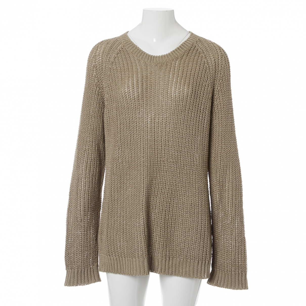 Ami \N Brown Linen Knitwear for Women M International
