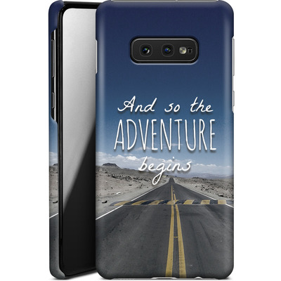 Samsung Galaxy S10e Smartphone Huelle - And so the Adventure Begins von Joel Perroden