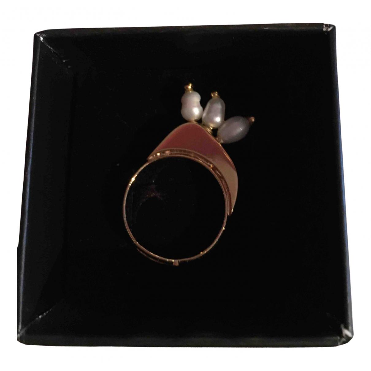 Shourouk \N Ring in  Gold Vergoldet