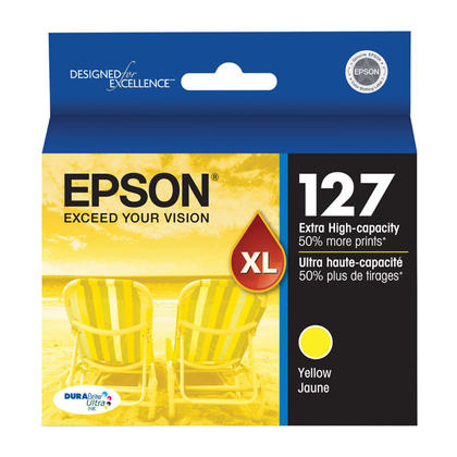 Epson T127420 Original Yellow Ink Cartridge Extra High Yield
