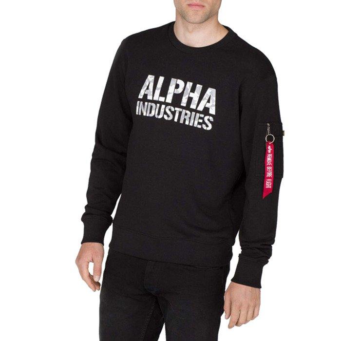 Sweatshirt homme Alpha Industries Camo Print 176301 95
