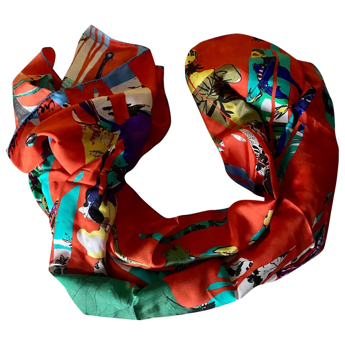 Christian Lacroix \N Multicolour Silk scarf for Women \N