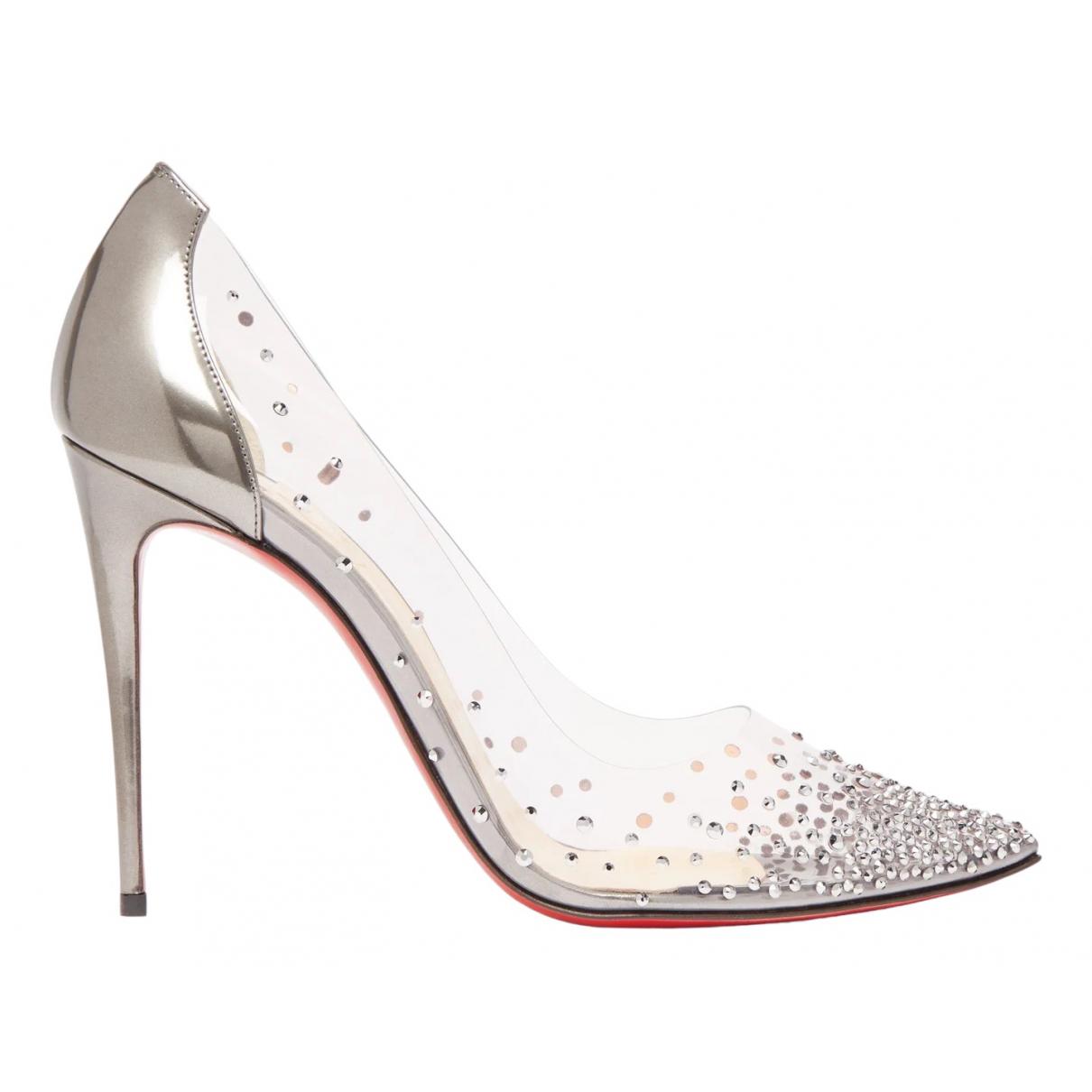 Christian Louboutin \N Silver Heels for Women 42 EU