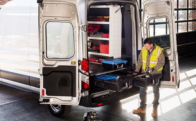 Decked Cargo Van Storage System 92-14 Ford Econoline EXT 138 FT
