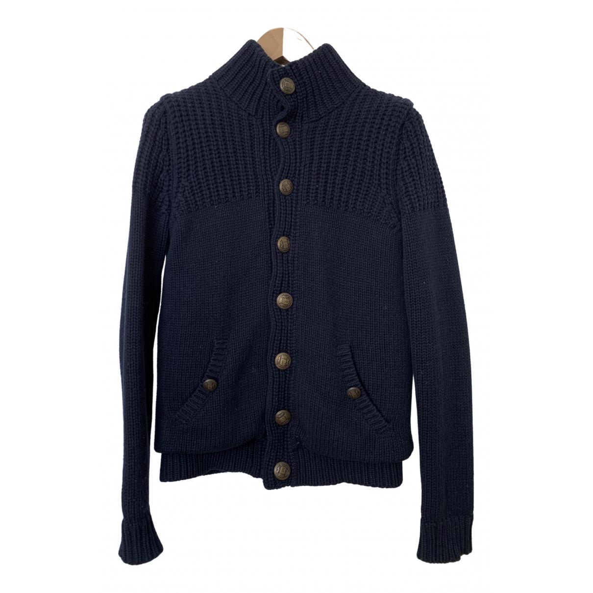 Boggi - Pulls.Gilets.Sweats   pour homme en laine - marine