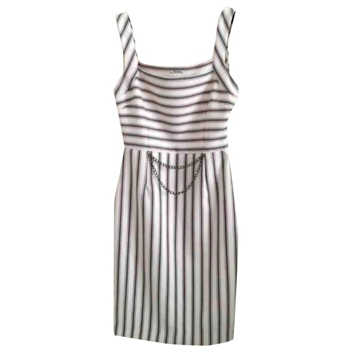 Miu Miu \N Kleid in  Bunt Baumwolle - Elasthan