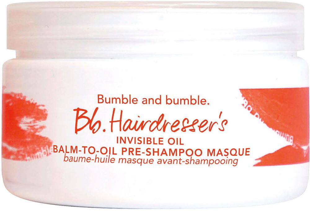 Bb.Hairdresser's Invisible Oil Balm-to-Oil Pre-Shampoo Masque