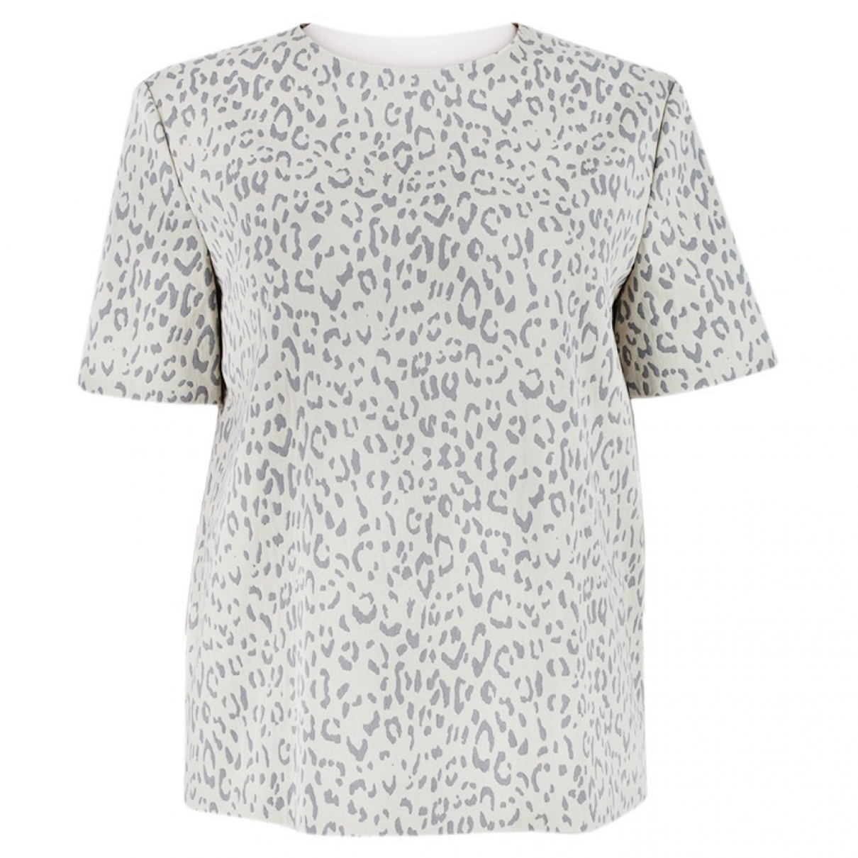 Stella Mccartney \N Grey Cotton  top for Women 38 IT