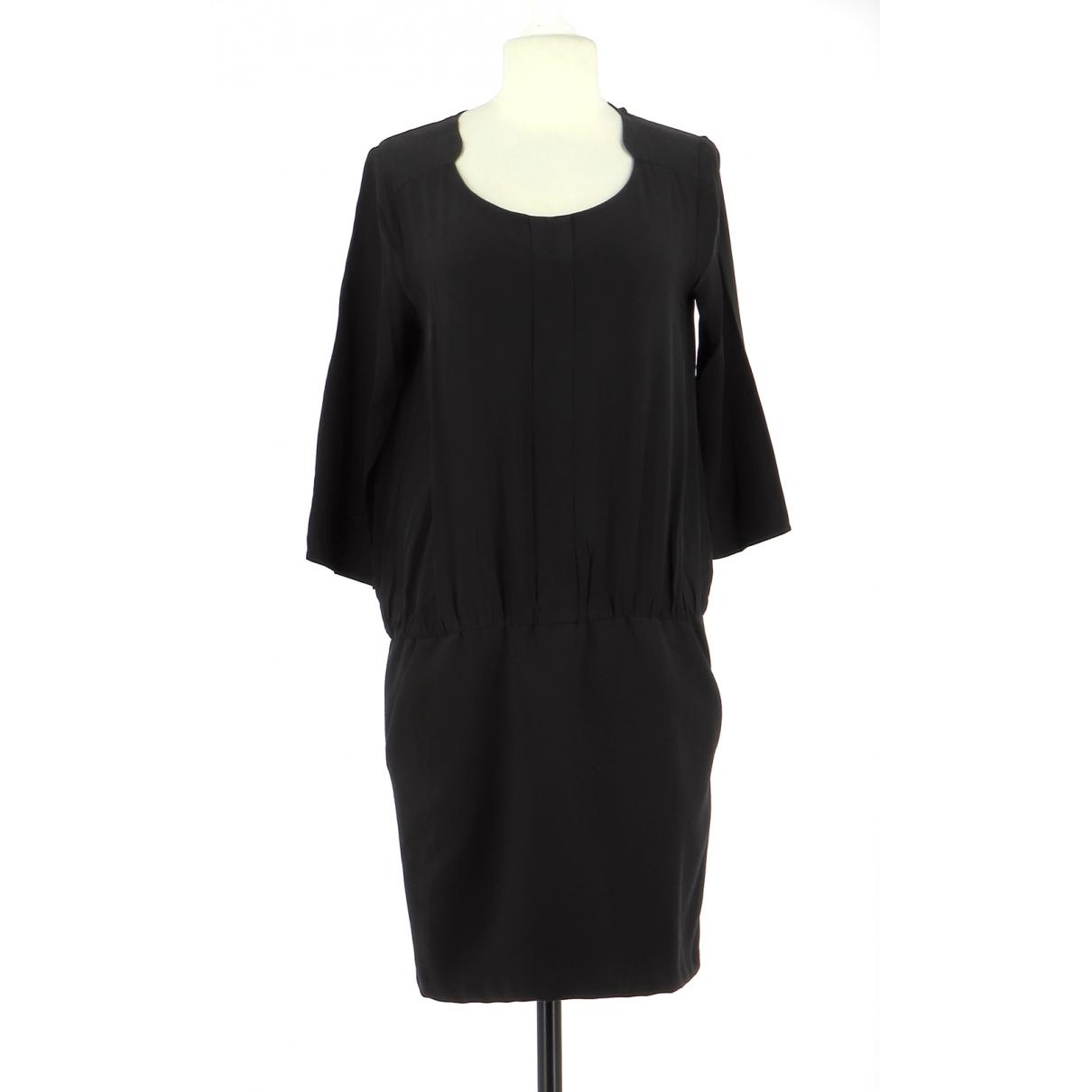 Comptoir Des Cotonniers - Robe   pour femme en soie - noir