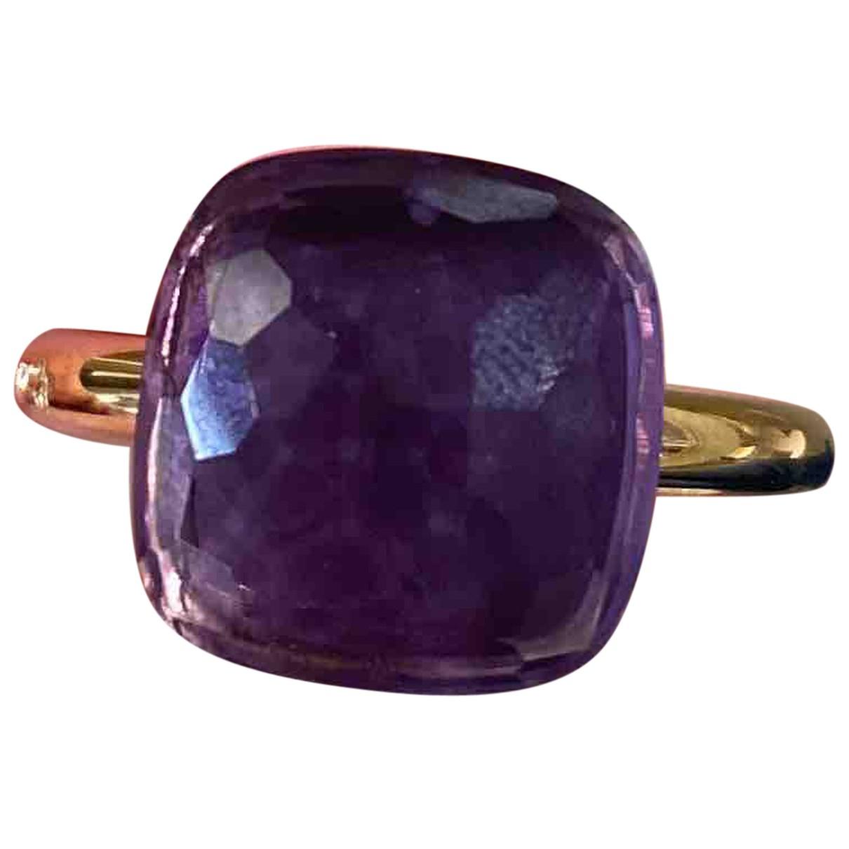 Pomellato - Bague Nudo pour femme en or rose - violet