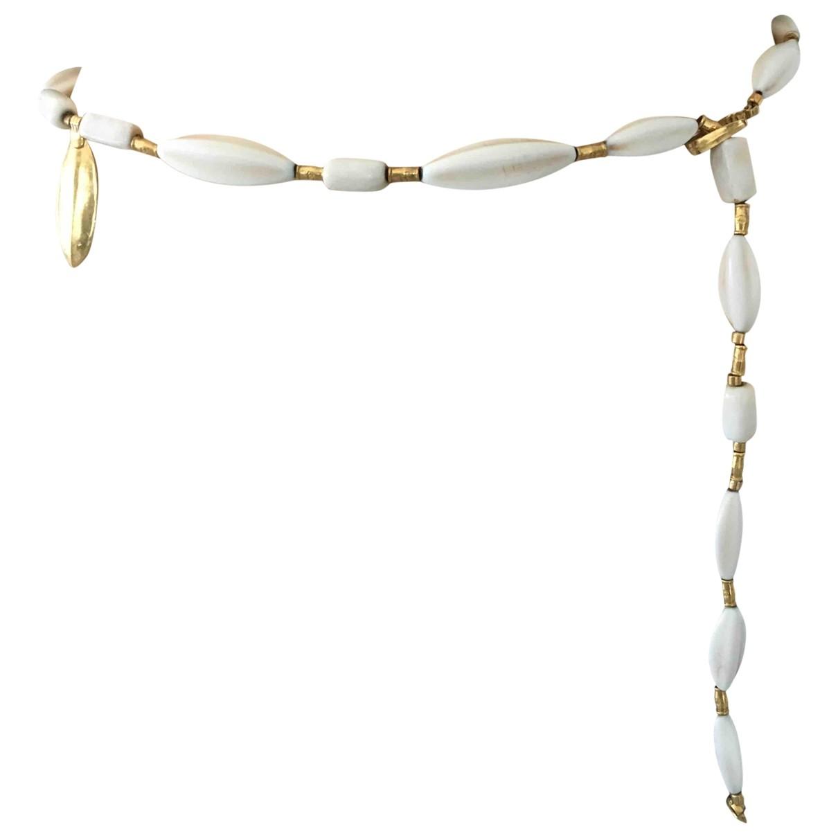Chanel \N Gold Pearls belt for Women M International