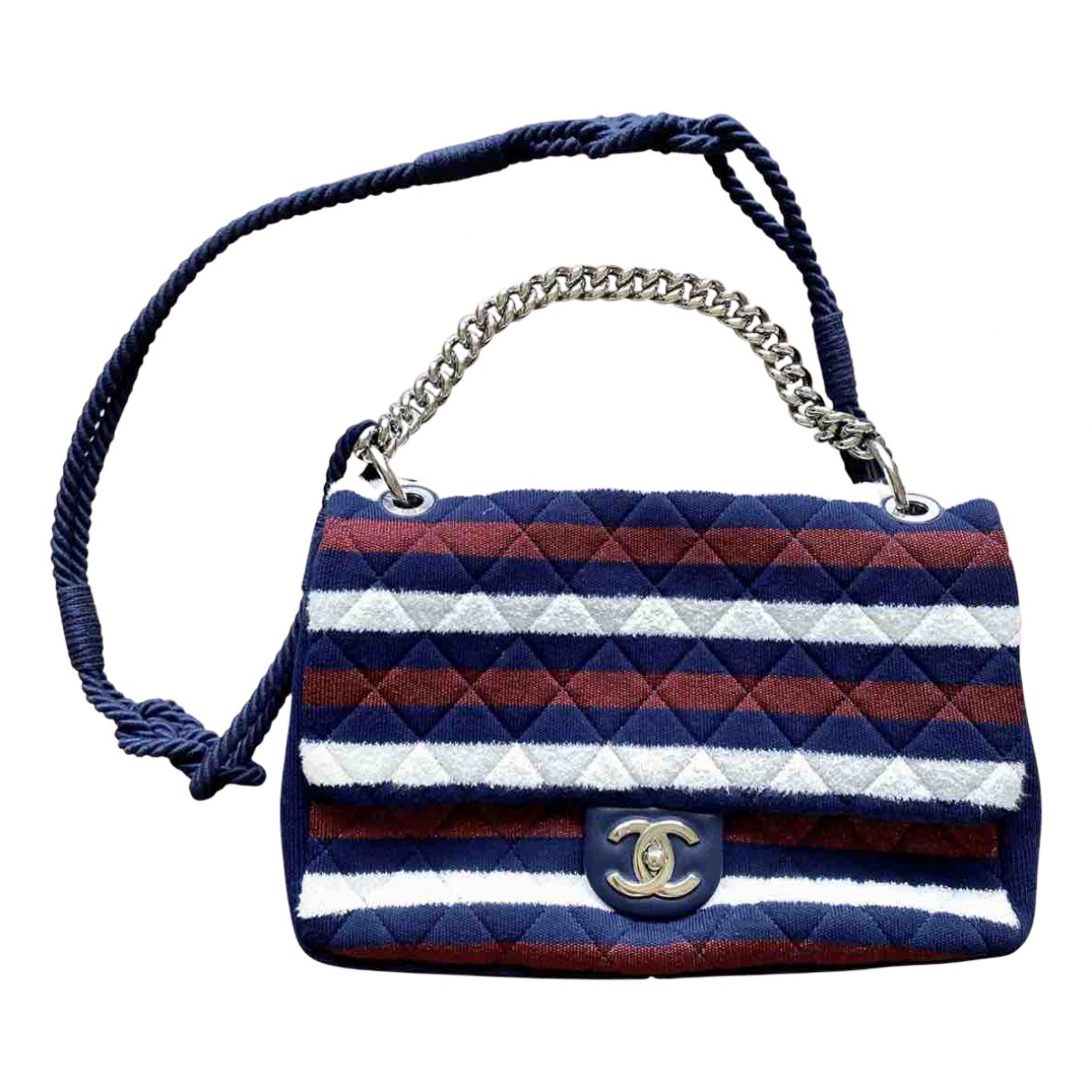 Chanel Timeless/Classique Multicolour Cloth handbag for Women N