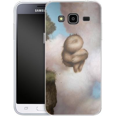Samsung Galaxy J3 (2016) Silikon Handyhuelle - A Fleeting Moment von Dan May