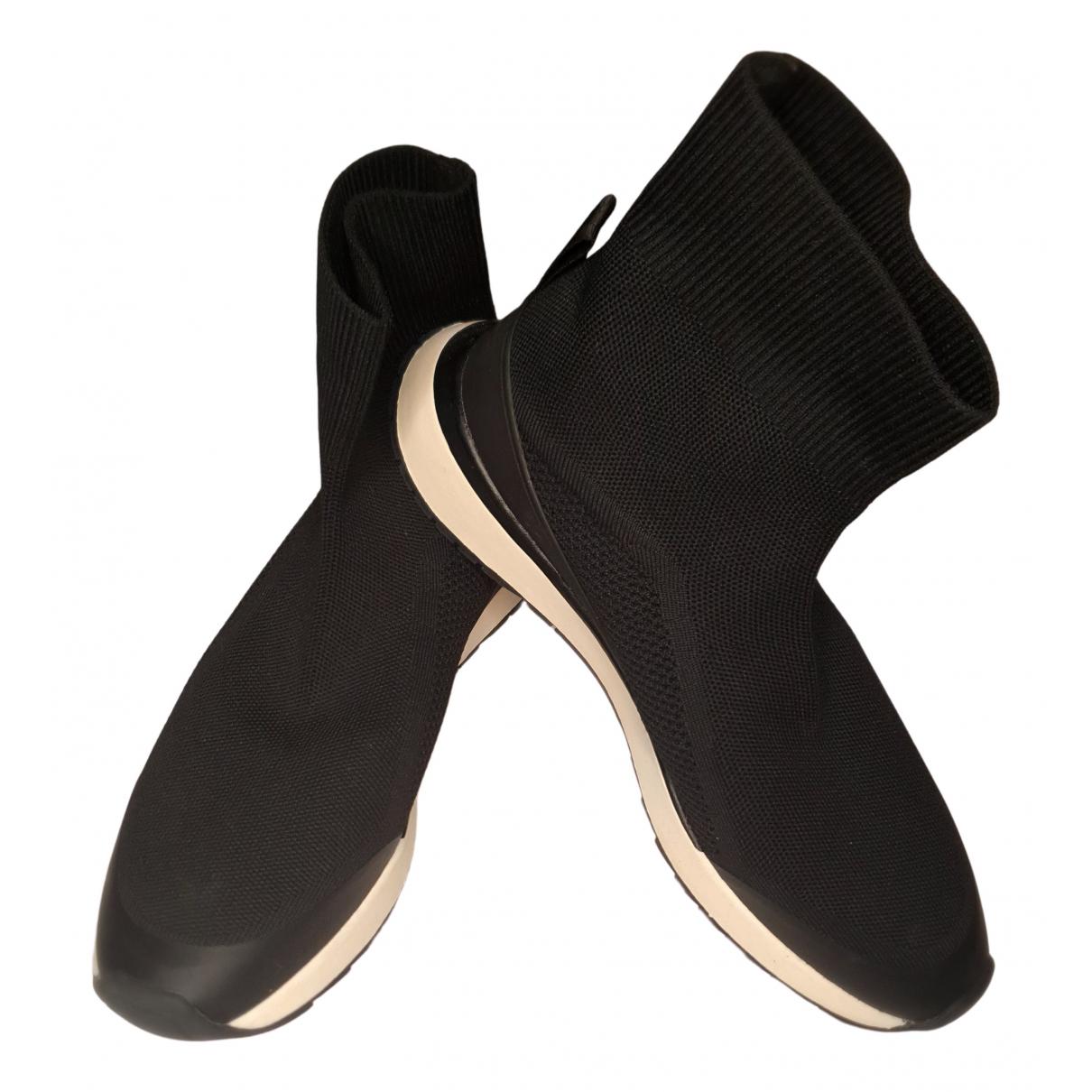 Zara - Baskets   pour femme en toile - noir
