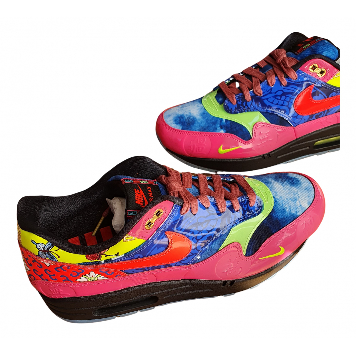 Nike Air Max 1 Multicolour Cloth Trainers for Men 9 US