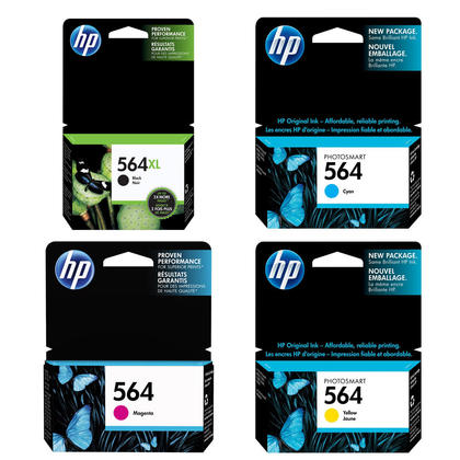 HP 564XL HP 564 Original Ink Cartridge Combo BK/C/M/Y