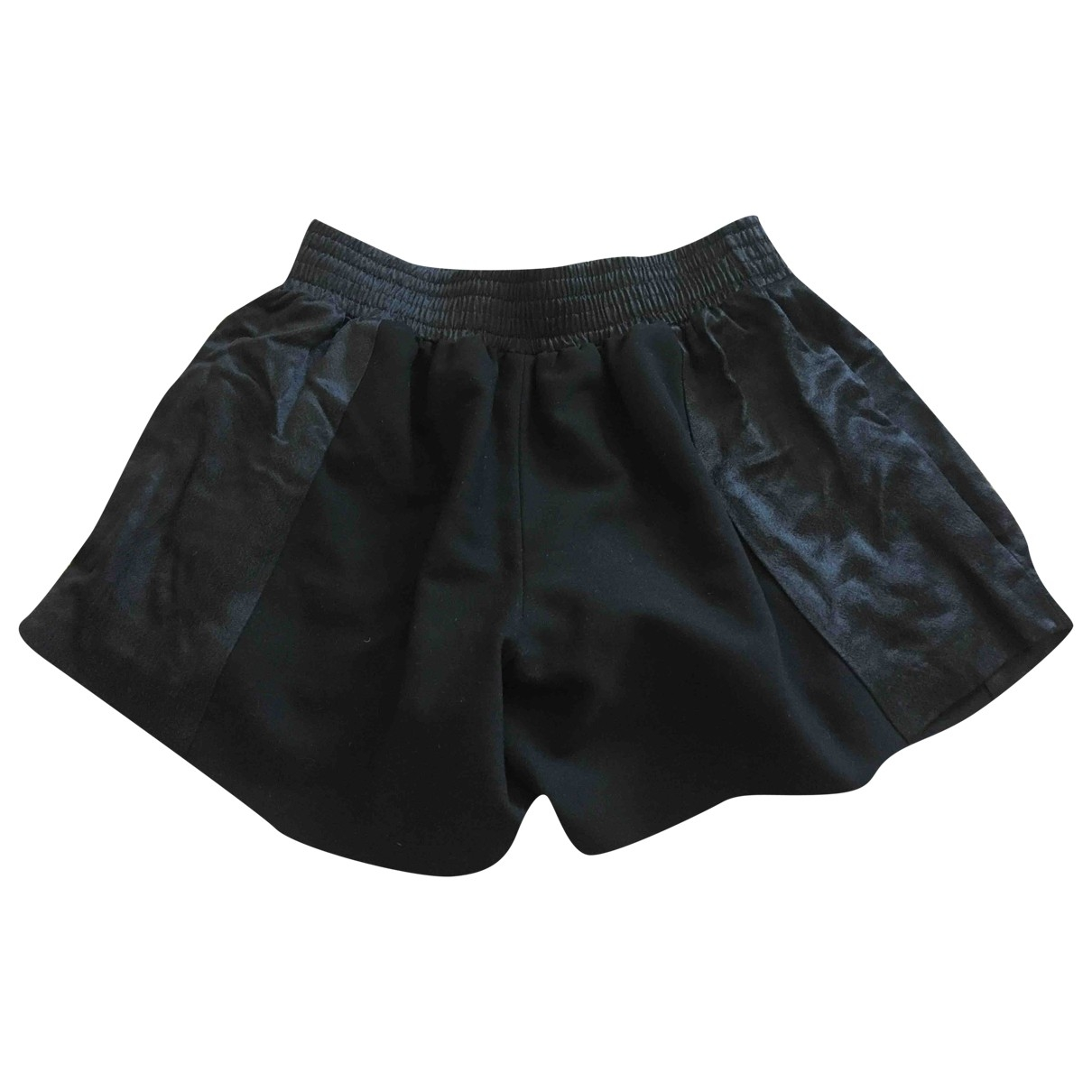 Maje \N Shorts in  Schwarz Polyester