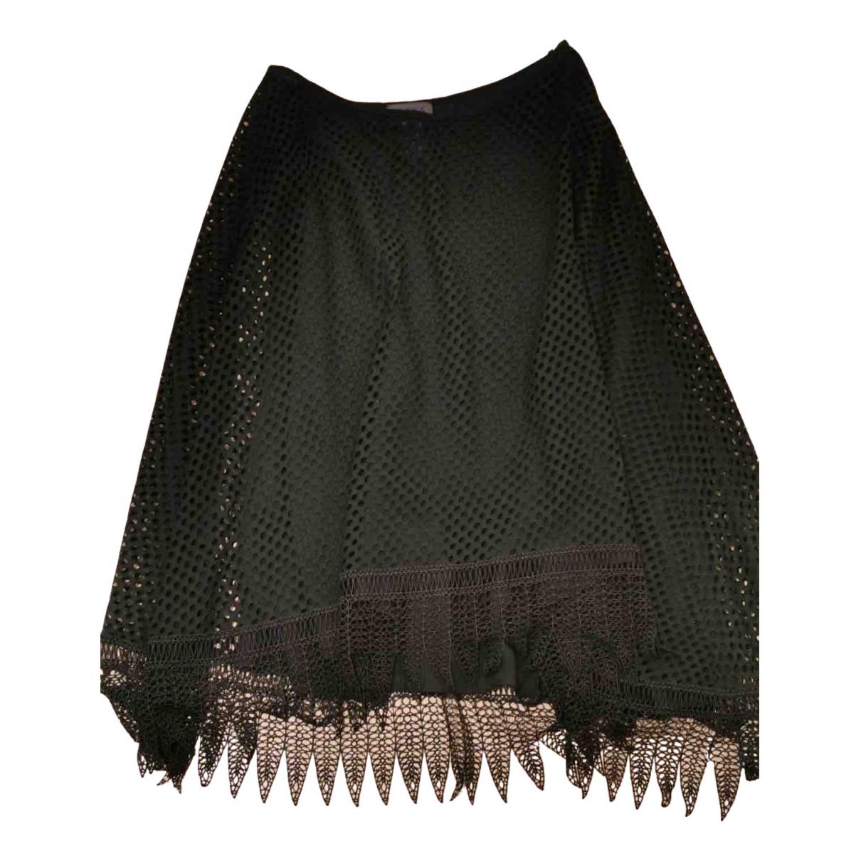 La Perla N Black Cotton skirt for Women 42 IT