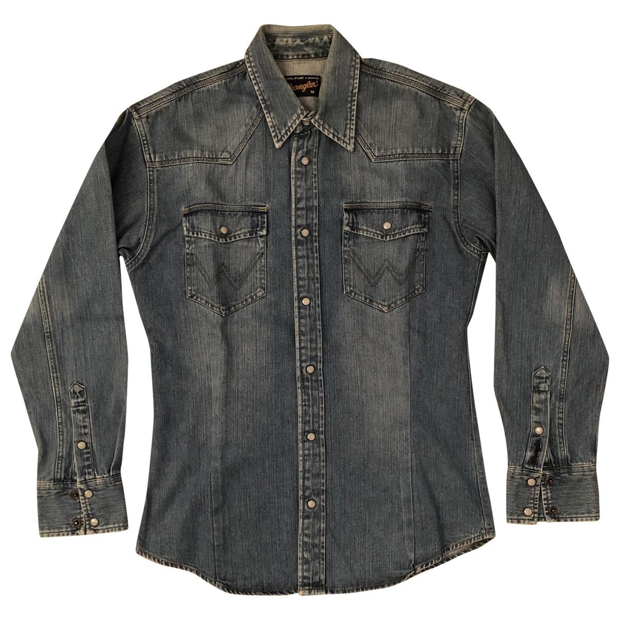 Wrangler - Chemises   pour homme en denim