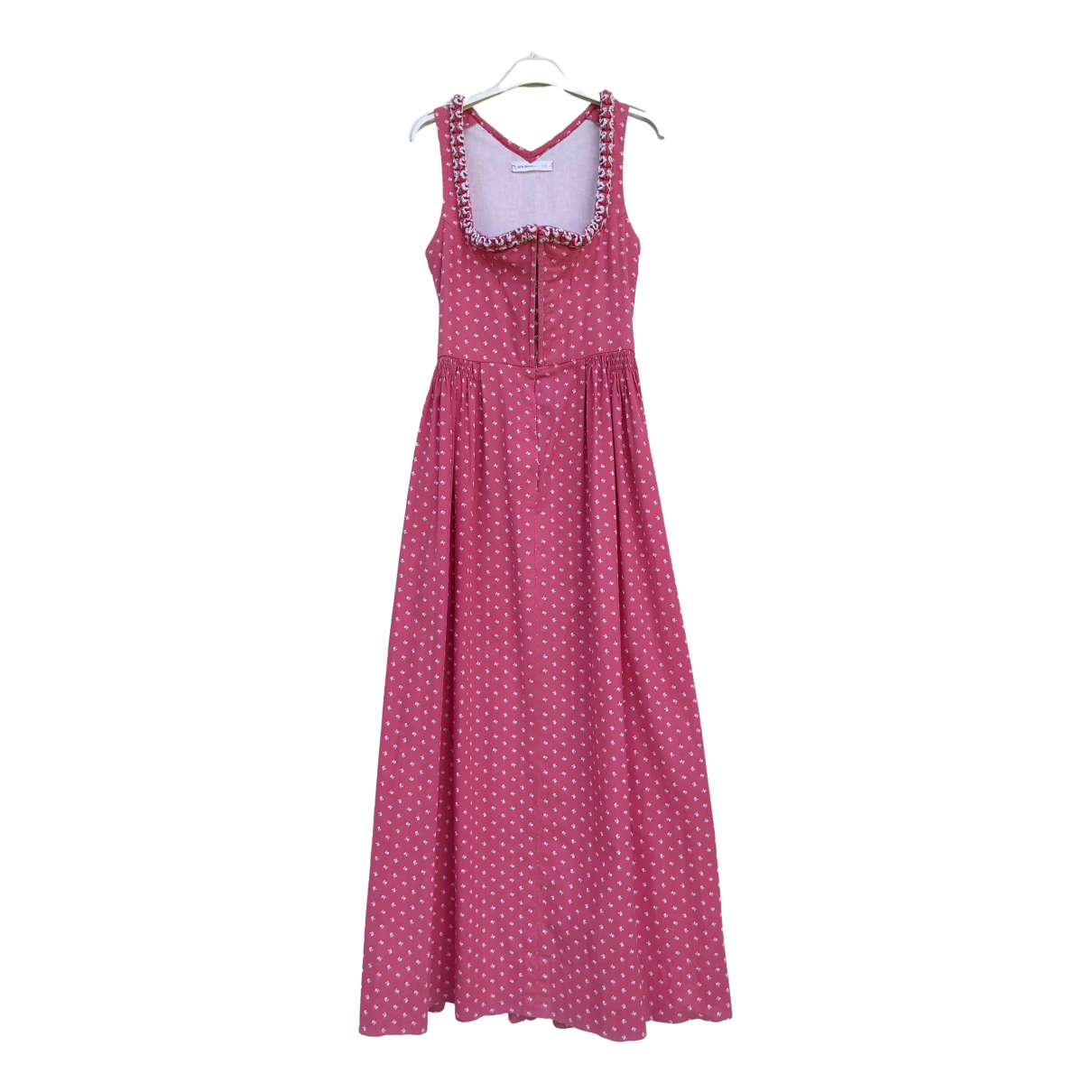 Non Signé / Unsigned \N Pink Cotton dress for Women S International